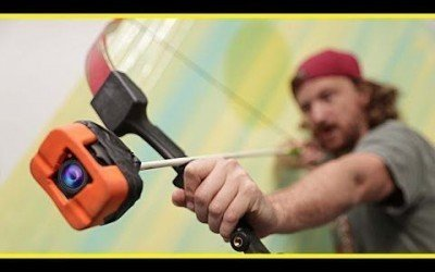 This Guy Attaches a GoPro to the End of an Arrow, WOW!